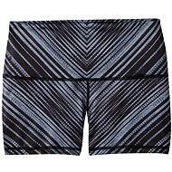 Prana Luminate Short Black Stripe, veľkosť XS - Kraťasy