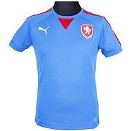 Puma Czech Republic Casuals T-Shirt royal L - Tričko