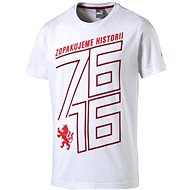 Puma Czech republic 76 Fan Shirt white chili L - Tričko
