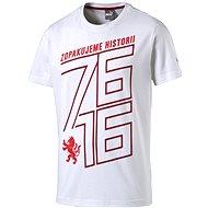 Puma Czech republic 76 Fan Shirt white chili XL - Tričko