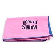 Born To Swim z mikrovlákna, ružový - Uterák