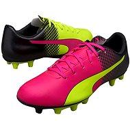 Puma Evo Speed 5.5 Tricks FG pink glo-safet, veľ. 10 - Kopačky