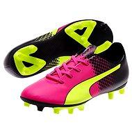 Puma Evo Speed 5.5 Tricks FG Jr pink glo-sa, veľ. 4,5 - Kopačky