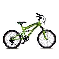 """Bolt 20"""" fosforovo-zelená - Detský bicykel"""