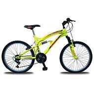 """Bolt 24"""" žltý - Detský bicykel 24"""""""