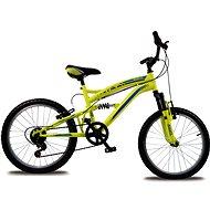 "Bolt 20"" fosforovo žltá - Detský bicykel"