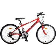 """Olpran Falcon Sus 24"""" červený - Detský bicykel 24"""""""