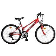 """Olpran Falcon Sus 24"""" červený Lady - Detský bicykel 24"""""""