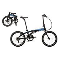 Tern Link D8 čierno-modrá (2017) - Skladací bicykel