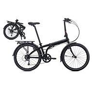 Tern Node D8 čierno-šedá (2107) - Skladací bicykel