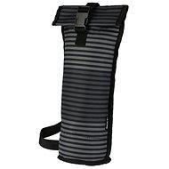 PackIt Wine Bag pruhovaný šedý - Taška
