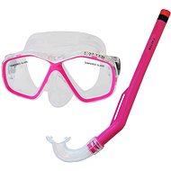 Calter Potápěčský set Kids S06+M278 PVC, růžový - Športová súprava