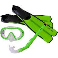 Calter Potápěčský set Kids S06+M168+F41 PVC, zelený - Športová súprava