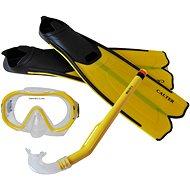 Calter Potápěčský set Kids S06+M168+F41 PVC, žlutý - Športová súprava