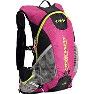 One Way Run Hydro Back 12L Pink-Black - Športový batoh