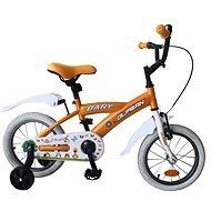 """Olpran Bary 14"""" zelený - Detský bicykel 14"""""""