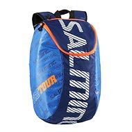 Salming Pro Tour Backpack Modrý/Oranžový - Batoh