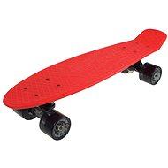 """Sulov Retro Venice červeno-čierny veľ. 22 """" - Plastový skateboard"""