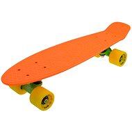 """Sulov Neon Speedway oranžovo-žltý veľ. 22 """" - Plastový skateboard"""