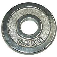 Acra Závažie chrómové 0,5 kg/tyč 25 mm - Kotúč
