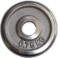 Acra Závažie chrómové 0,75 kg/tyč 25 mm - Kotúč