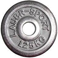 Acra Závažie chrómové 1,25 kg/tyč 25 mm - Kotúč