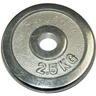 Acra Závažie chrómové 2,5 kg/tyč 25 mm - Kotúč