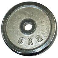 Acra Závažie chrómové 5 kg/tyč 25 mm - Kotúč