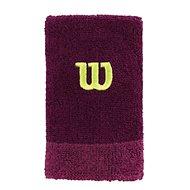 Wilson Extra WIDE W Wristband Purple / boys OSFA - potítko