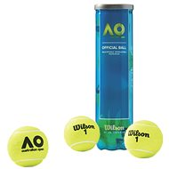 Wilson Australian Open 4 BALL CAN - Loptičky