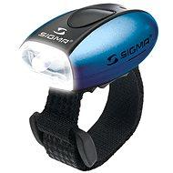 Sigma Micro modrá/predné svetlo LED-biela - Svetlo na bicykel