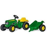 Rolly Kid J.Deere s vlečkou - Šliapací traktor