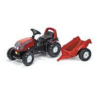 Rolly Kid Valtra s vlečkou - Šliapací traktor