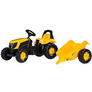 Rolly Kid JCB s vlečkou - Šliapací traktor
