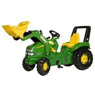 X-Trac John Deere s nakladačom - Šliapací traktor