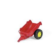 Vlečka za traktor 1osá - červená - Šliapací traktor