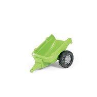 Vlečka za traktor 1osá - svetlozelená - Šliapací traktor