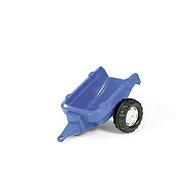 Vlečka za traktor 1osá - modrá - Šliapací traktor