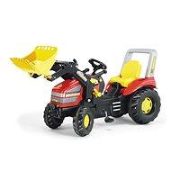 X - track s nakladačom - Šliapací traktor