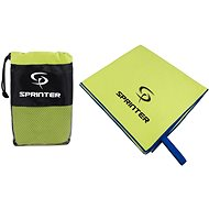 Sprinter - uterák z mikrovlákna 70 × 140 cm - zelený - Uterák