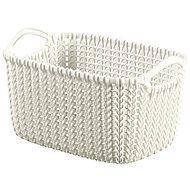Curver Knit košík 3 l krémový - Úložný box