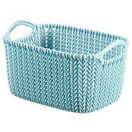 Curver Knit košík 3 l modrý - Úložný box