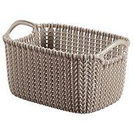 Curver Knit košík 3L hnedý - úložný box