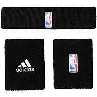 Adidas NBA Wristband Prus Headband Black Youth - Súprava