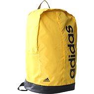 Adidas Linear Performance Backpack Yellow - Športový batoh