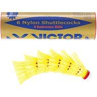 Victor Nylon 2000 žltý-červený - Bedmintonová lopta