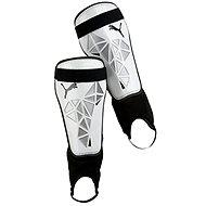 Puma Pro Training grd + ankle white S - Futbalové chrániče