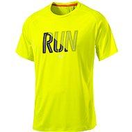 Puma Run SS Tee Safety Yellow M - Tričko
