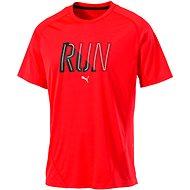 Puma Run SS Tee Red Blast XL - Tričko
