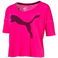 Puma The Good Life Tee Pink Glo S - Tričko